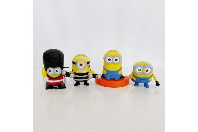 4 x Minions McDonald's Despicable Me Toys Bundle Lot