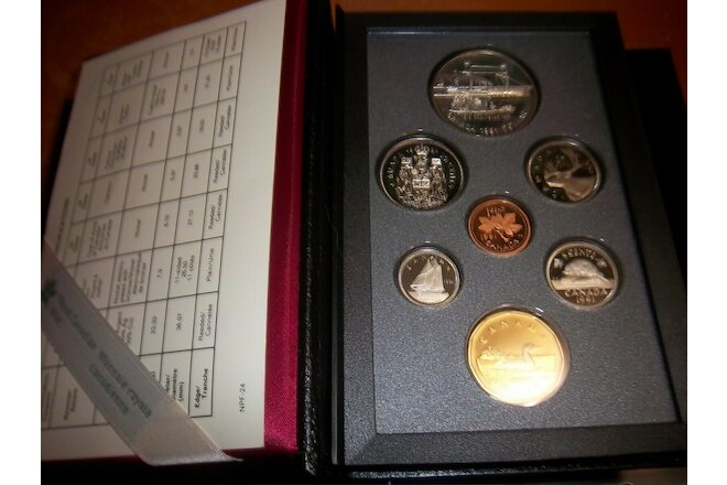 1991 Proof set Canada Royal Canadian Mint Coins