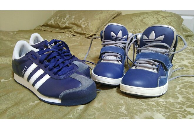 ADIDAS men sneakers lot size 8.5