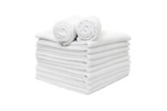 Microfiber Hand Towels 12 Packs - 16 x 27 Soft Reusable Absorbent Color Options