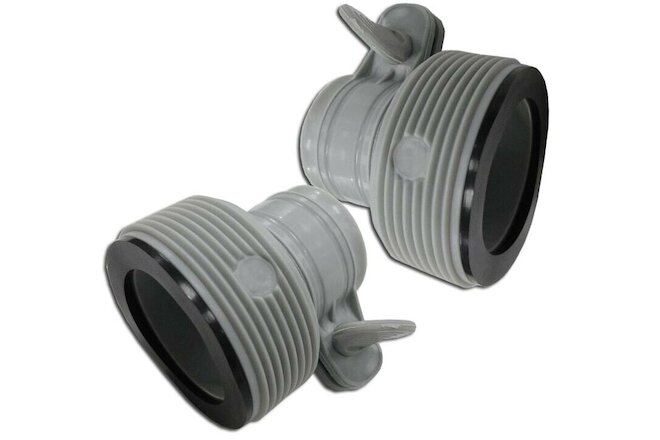 "Intex Type B Adapter for Above Ground Pools Converts 1.25"" to 1.5"" Item # 10722"