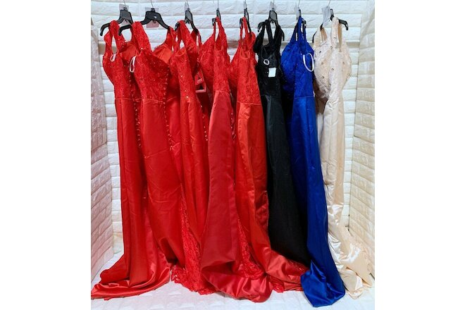 Wholesale Lot of 8pcs Women's Prom Bridesmaid dresses Formal Party Gown dress