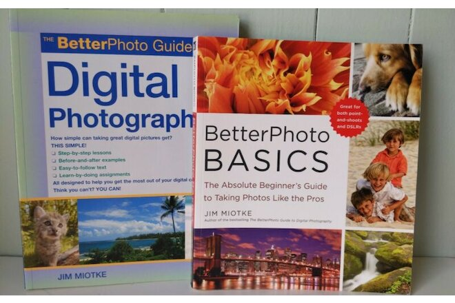 Lot 2 Guide to Digital Photography by Jim Miotke Better Photo Basics Beginners