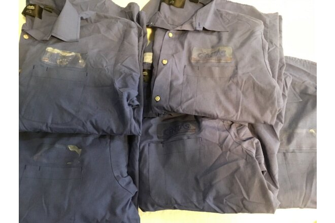 Used Uniform Work Shirts Ex CINTAS  Mechanics long sleeve Large