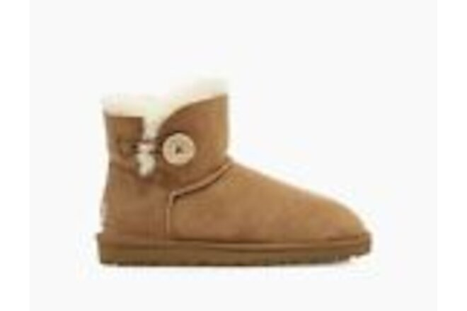 {1016422} UGG Women's MINI BAILEY BUTTON II *NEW* MSRP: $140