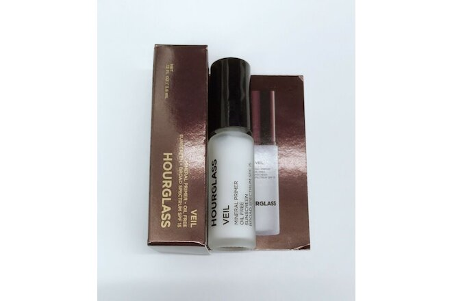 5 x Hourglass Veil Mineral Primer SPF15 0.12oz / 3.6ml New In Box