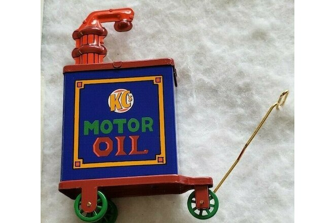 Hallmark Kiddie Car Corner Collections Corner KC's Motor Oil Accessory