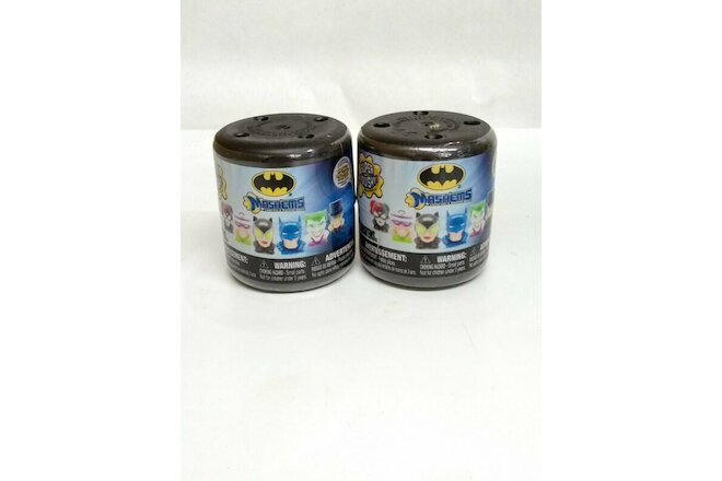 Batman MASHEMS Series Blind Capsules New Sealed! *lot of 2*