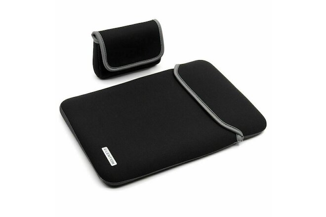 LENTION Neoprene Laptop Sleeve Case Charger Pouch for MacBook Pro Latitude 13