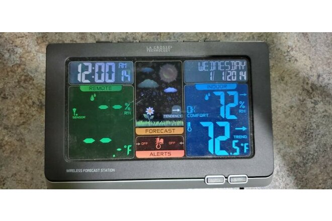La Crosse Technology Wireless Color Weather Station C83349 No Outdoor Unit