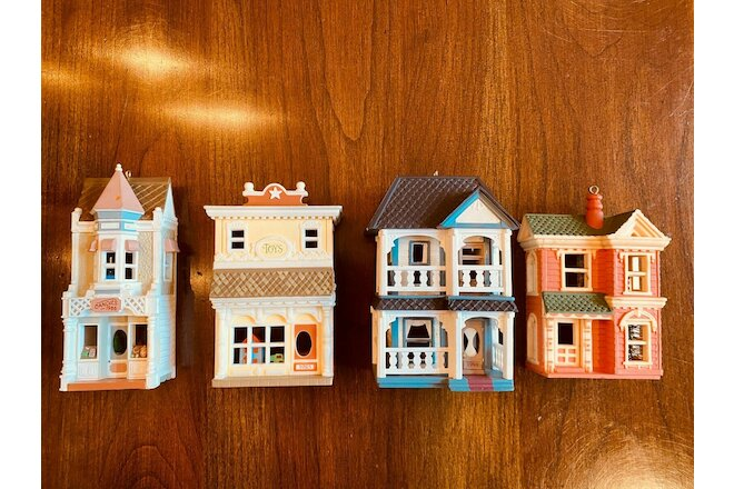 Hallmark Christmas Ornaments Nostalgic Houses and Shops