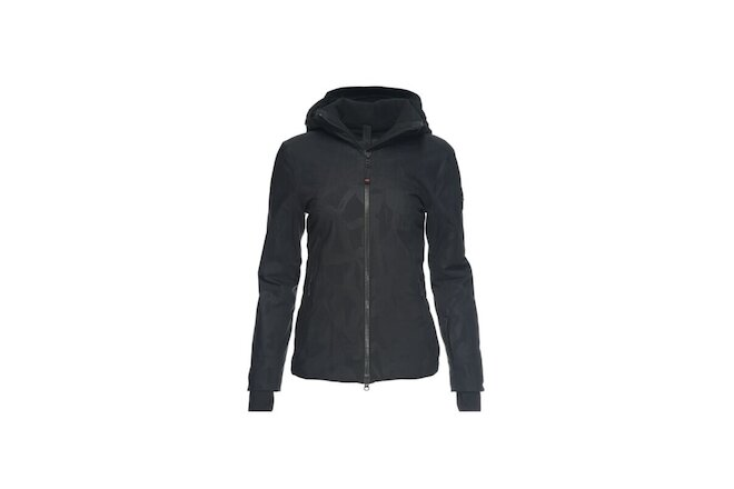 NWT Bogner Fire + Ice Women's Charlene Ski Jacket Black Size US Small EU 6 $650
