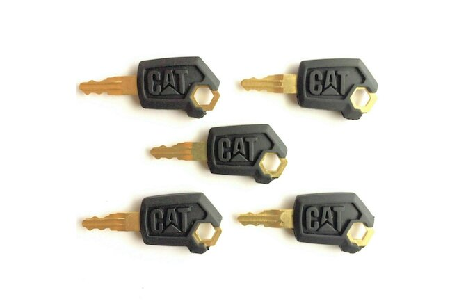 5 Master CAT Keys Caterpillar Heavy Equipment Ignition Key 5P8500