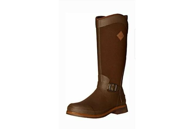 Women's Equestrian Muck Boots Chocolate/Brown Size 7's