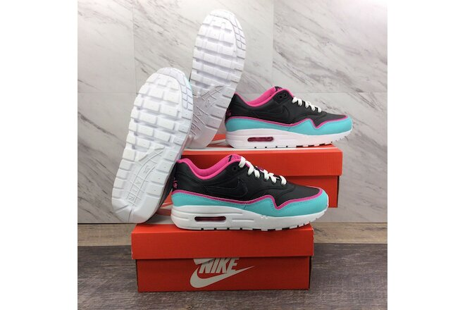Nike Air Max 1 GS Double Layered Aqua Fuchsia BV0052-001 4.5Y Women's 6 Lot of 2