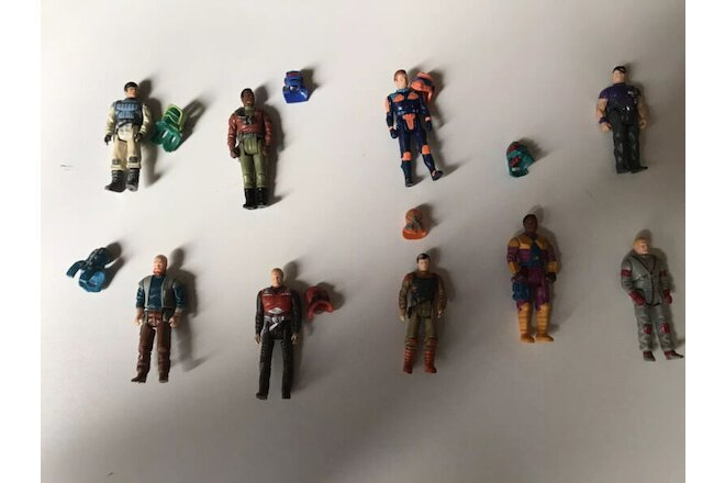 Kenner Mask Figure Lot (9 Figures )