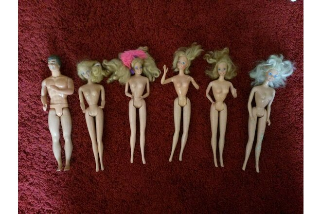 Lot Mattel Barbie & Ken