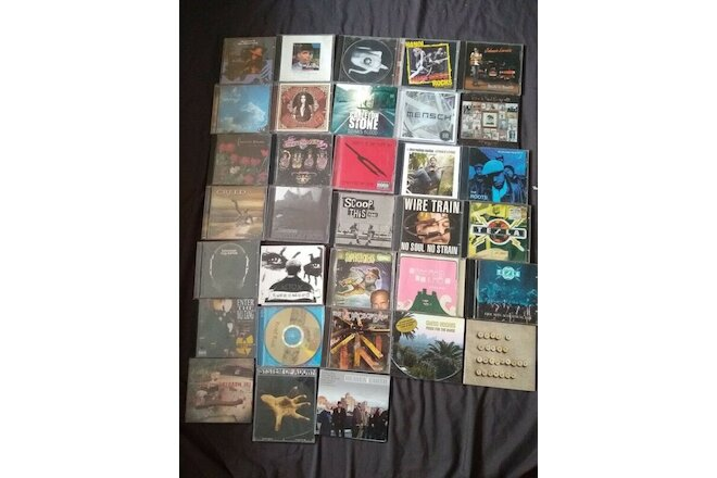 Mixed Lot of 33 CDs