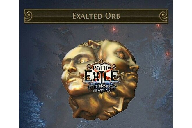 10 Exalted Orb RITUAL League Softcore ( Path of Exile POE SC exalt ) 10ex PC
