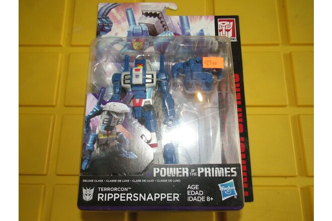 Transformers Power of the Primes Rippersnapper NEW Deluxe Class