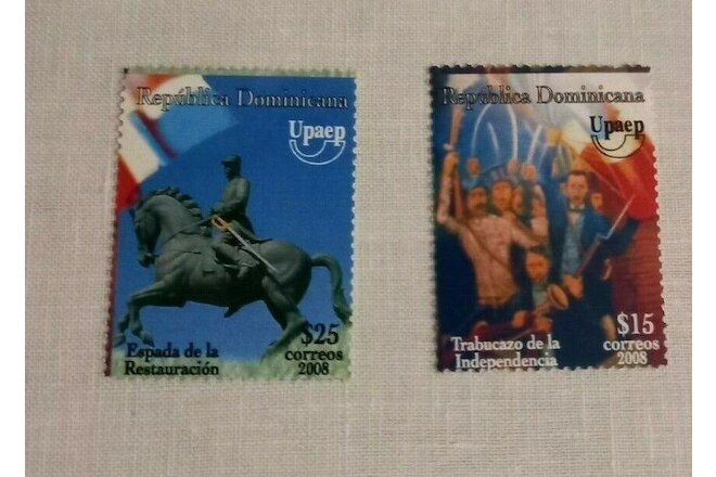 Dominican  2008 National Festival  UPAEP America MNH Set  Unused stamps