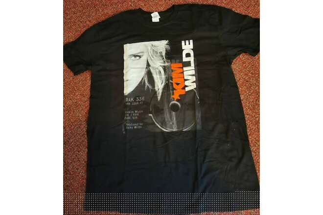KIM WILDE HERE COMES THE ALIENS TOUR T-SHIRT &  SIGNED FLYER  2018
