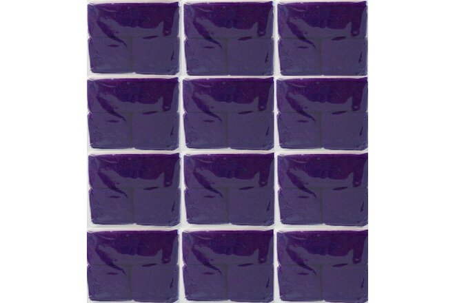 LOT OF 30 PURPLE SWEATBANDS WRISTBAND FITNESS SPORT GYM WORKOUT YOGA EXERCISE