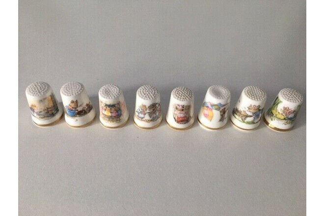 "Royal Doulton ""Brambly Hedge"" Thimble Collection"