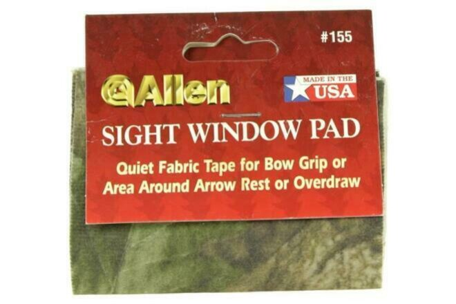 NEW Allen Bow Hunting Archery Sight Window Pad Camo 2 pack   3 sets