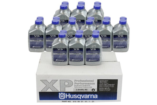 Husqvarna 2XP 5.2oz Bottles Two Stroke Cycle XP Oil 50:1 for 2 Gallon 24-PACK