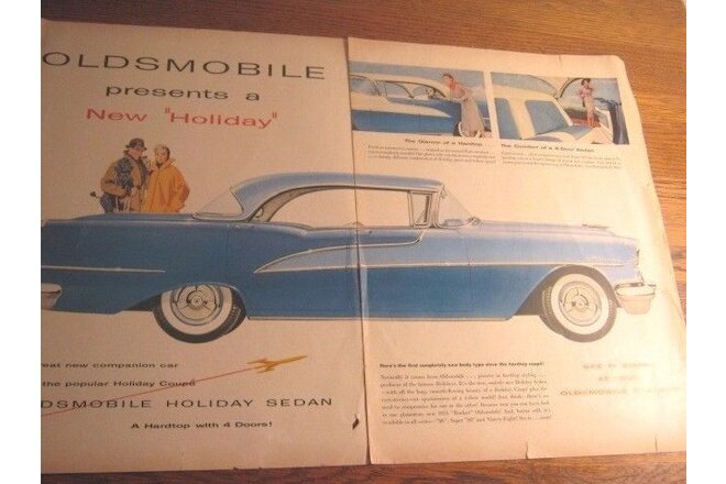 1955 Oldsmobile Ninety Eight Sales Ads