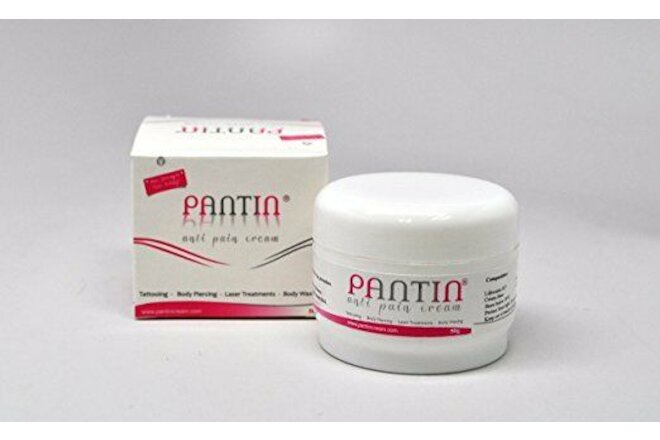 PANTIN Lidocaine 5% Anti Pain Numbing Cream (50g) soothing relief - Anesthetic