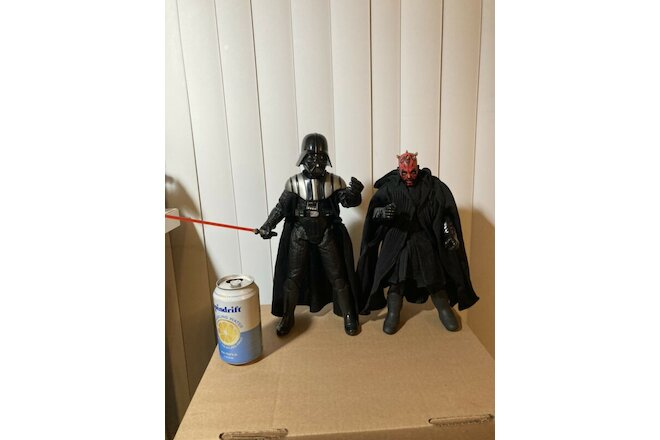 Star Wars Action Collection 12 inch Sith Lords Darth Vader & Darth Maul 2 Figure