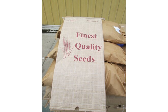 100 pack 50 lb Finest Quality Seeds bags ( Brand New )