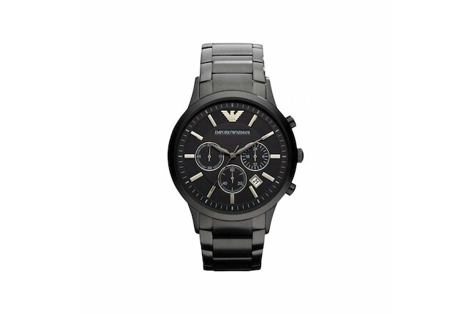 EMPORIO ARMANI Classic AR2453 Chronograph Black Dial Men's Wrist Watch - **USA**