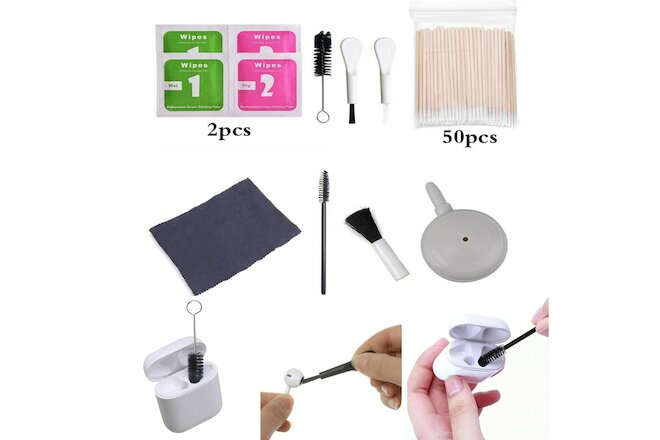 Air Pump Brush Cleaner For Airpods Pro Cleaning kit Tools Airdots Earphones Case