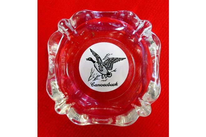 Hunter's Game Bird Ashtrays Lot of 4 1950s Federal Glass Columbus OH  u