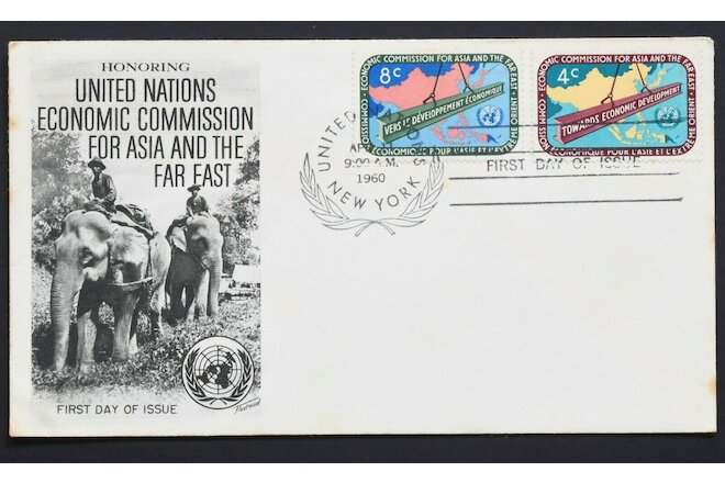 United Nations Economic commission for Asia and the Far East FDC 150420