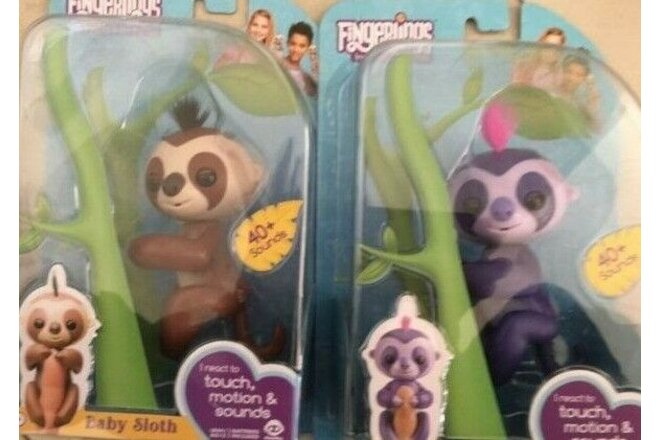 WowWee AUTHENTIC 2 Baby Sloths