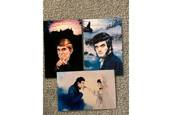 Dark Shadows Photograph of Original Artwork of Barnabas, Quentin and Barnabas an