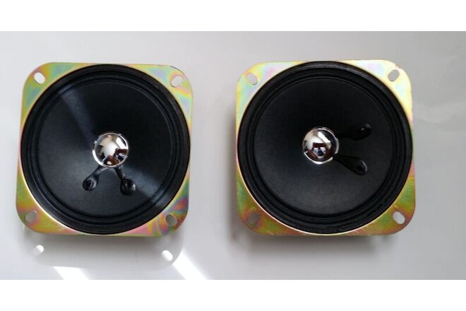 Speaker for Arcade Pinball machine 4 Inch 8 ohm 5W SET of 2