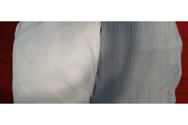2 Twin Size Bed Sheets With Fitted Sheet and Flat Sheet