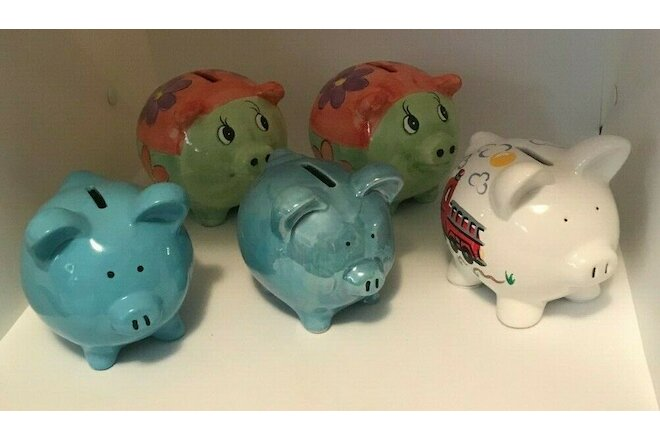 Lot of Piggy Banks