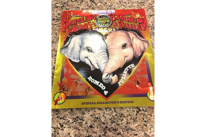 RINGLING BROTHERS BARNUM & BAILEY CIRCUS RARE 124TH & 125TH ANNIVERSARY PROGRAMS