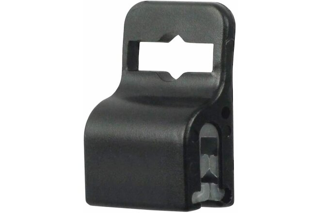10 Pack - Black Gripper Card Holder Clamp - for Standard Thickness ID Badge