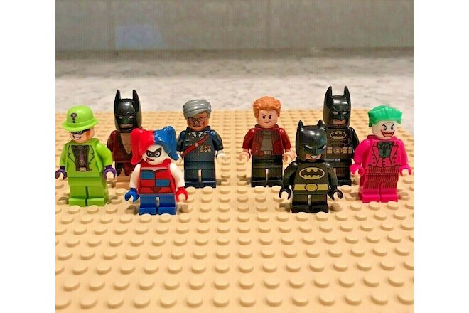 Lego Minifigures Minifigs Marvel DC Disney Joker Batman Harley Quinn Bulk Lot