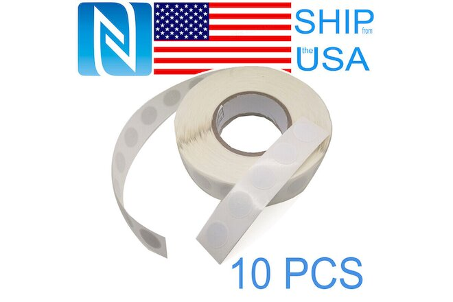 10X NTAG215 Blank NFC RFID Tags Stickers TagMo Amiibo Compatible Android Phone
